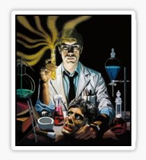 Re-Animator science fiction cover Sticker
