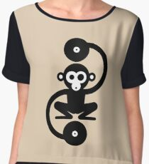 Monkey Music Chiffon Top