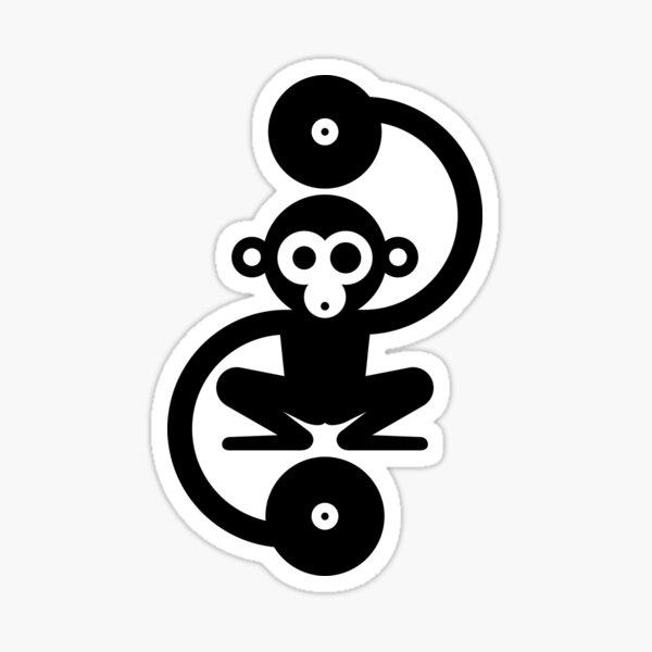 Monkey Music - Monkey Business Sticker