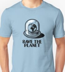 World Snow Globe - Save the Planet Unisex T-Shirt