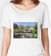 The Town of Bradford on Avon, Wiltshire, United Kingdom. Women's Relaxed Fit T-Shirt