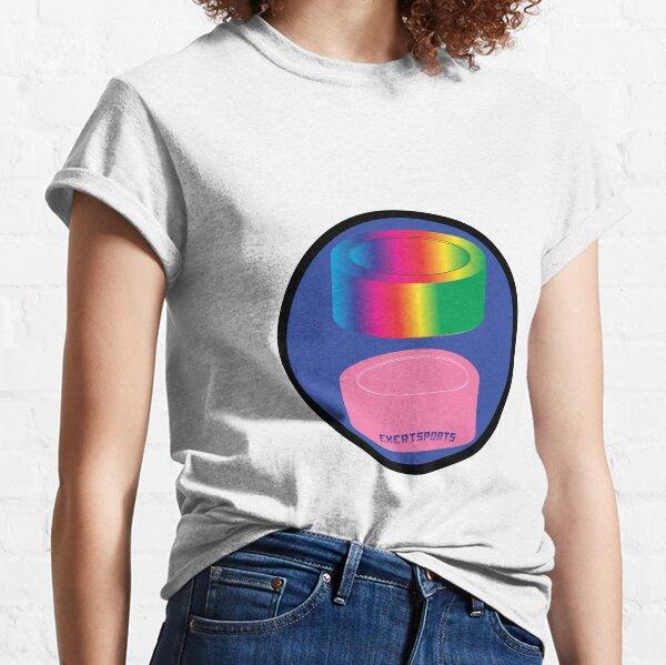 Colorful Hockey Puck Tee Shirt Classic T-Shirt