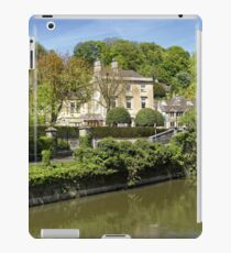 The Town of Bradford on Avon, Wiltshire, United Kingdom. iPad Case/Skin