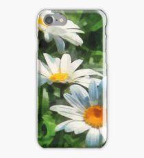 Gardens - Three White Daisies iPhone Case/Skin