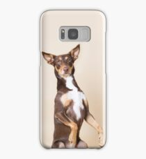 Kelpie phone case, begging dog Samsung Galaxy Case/Skin
