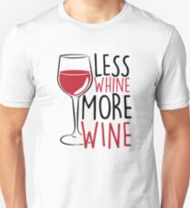 Less Whine, More Wine T-Shirt