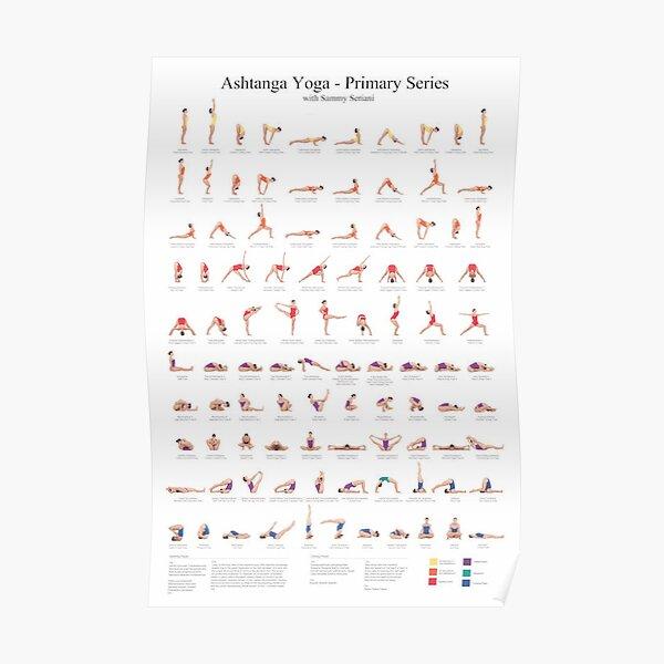 Ashtanga Yoga Poster Poster