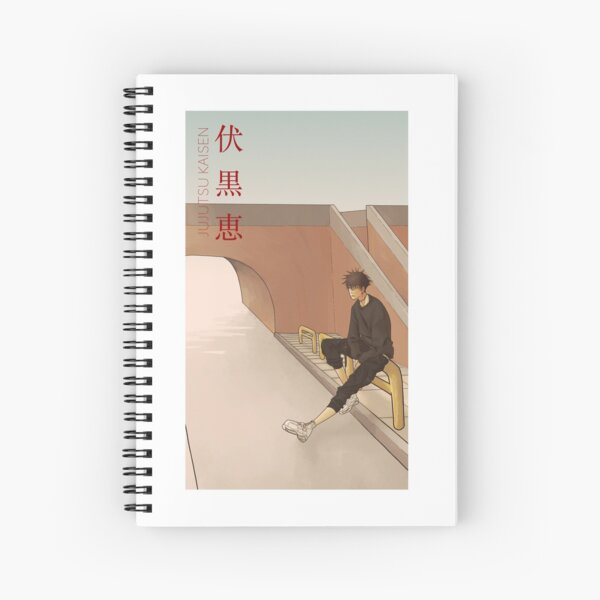 megumi Spiral Notebook