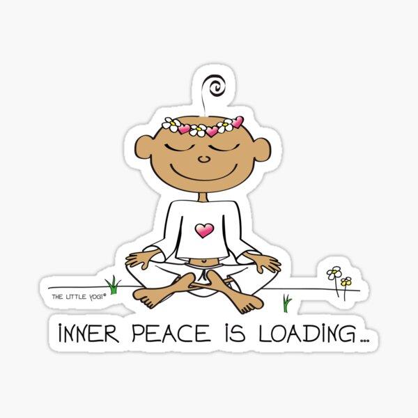 Inner Peace Is Loading... Sticker