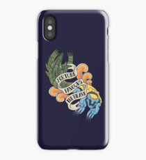 fortune favours the brave iPhone Case/Skin