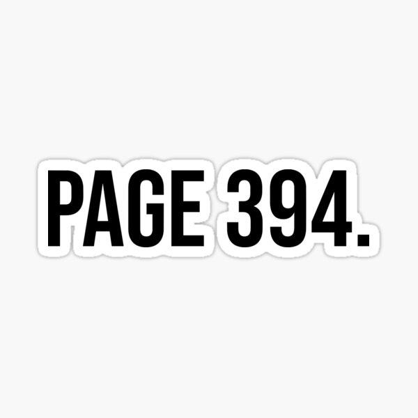 Página 394 Pegatina