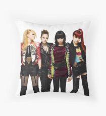 2NE1 CL DARA BOM MINZY KPOP Throw Pillow