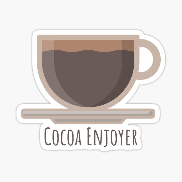 Cocoa Enjoyer Sticker