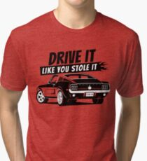Drive it - fastback Tri-blend T-Shirt