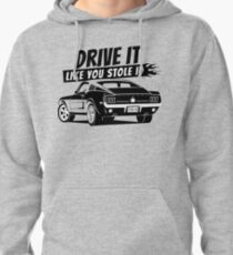 Drive it - fastback Pullover Hoodie