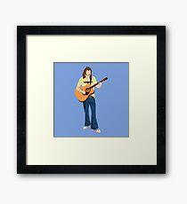 Tribute: Glenn Frey Framed Print