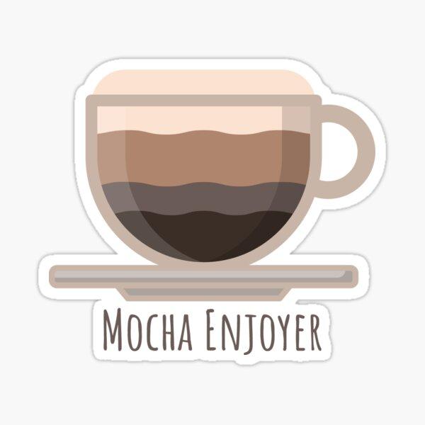 Mocha Enjoyer Sticker
