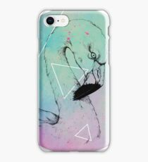 Neon Flamingo  iPhone Case/Skin