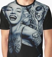 Marilyn with tattoos Graphic T-Shirt