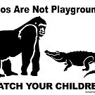 Zoos Are Not Playgrounds by ayemagine