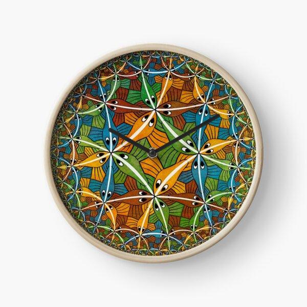 Circle Limit III, by Maurits Cornelis Escher Clock