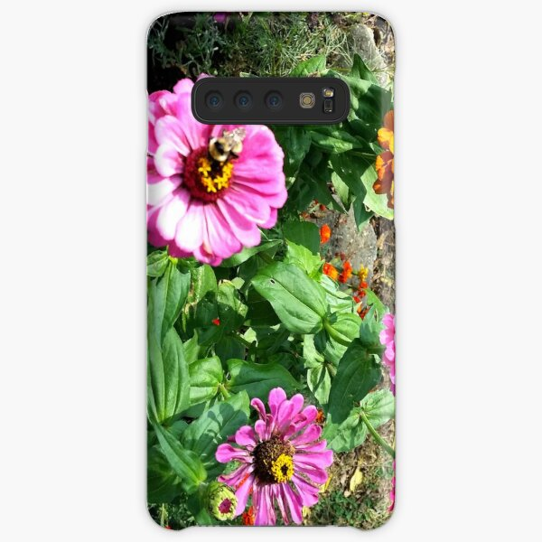 Zinnias Samsung Galaxy Snap Case