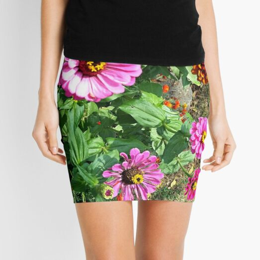 Zinnias Mini Skirt