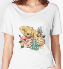 Pastel Bearded Dragon Women's Relaxed Fit T-Shirt