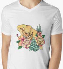 Pastel Bearded Dragon Men's V-Neck T-Shirt