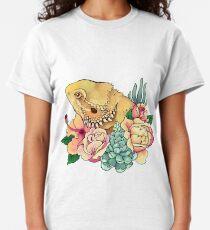 Pastellbärtiger Drache Classic T-Shirt