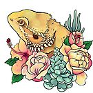Pastel Bearded Dragon by Morgan Carpenter