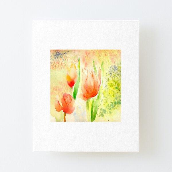 Dottie's Tulips Canvas Mounted Print