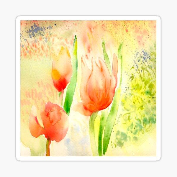 Dottie's Tulips Sticker