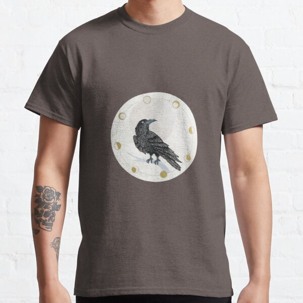 Raven and Moon Classic T-Shirt