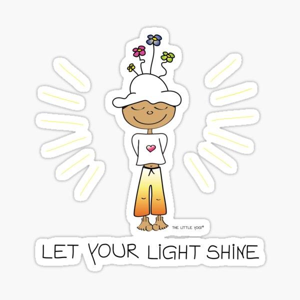 Let Your Light Shine Sticker