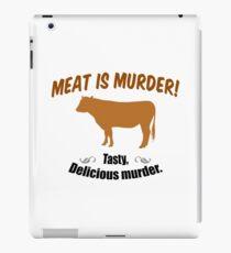 Meat is Murder! iPad Case/Skin
