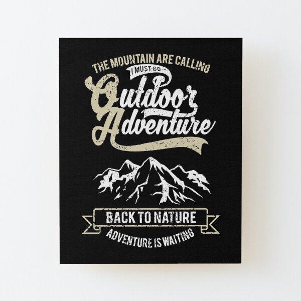 Outdoor Adventure Wood Mounted Print