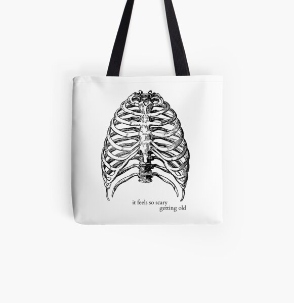 Getting Old (Lorde Ribs) All Over Print Tote Bag