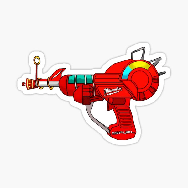 Milwaukee Ray Gun Sticker