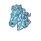 Blue Horse by Madison Cowles