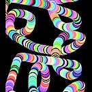 Colorful 3D Tube by pjwuebker