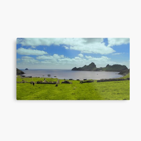 Village Bay, Hirta Metal Print