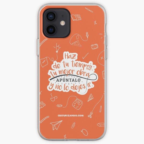Haz de tu tiempo tu MEJOR obra iPhone Soft Case