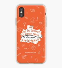 Haz de tu tiempo tu MEJOR obra iPhone Case