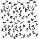 Swarm of Flies by pjwuebker