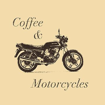 Café y motocicletas de itsamoose