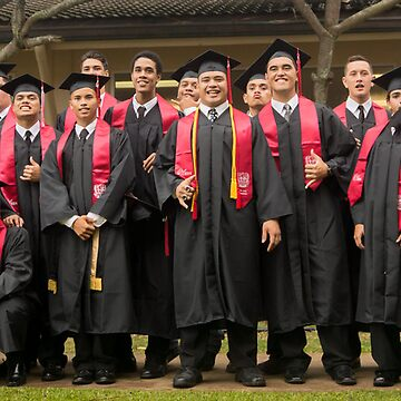 Kahuku graduation 2014 Boys (and a couple gals) by RedRaider4Life
