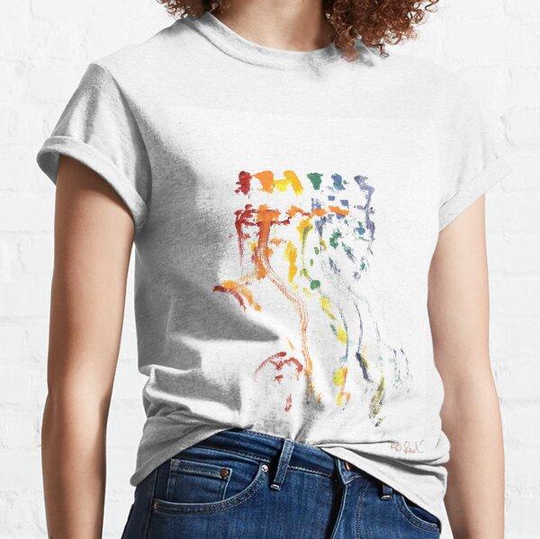 LGBTQ Gay Pride Tribal Dance by RD Riccoboni Classic T-Shirt