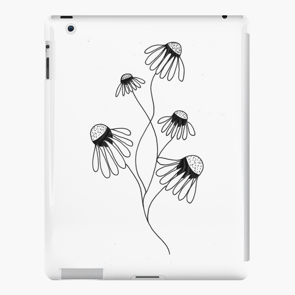 Daisy in Ink iPad Case & Skin
