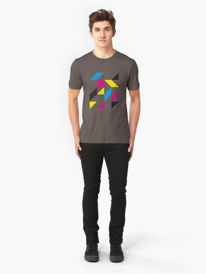 Alternate view of Tangram Slim Fit T-Shirt